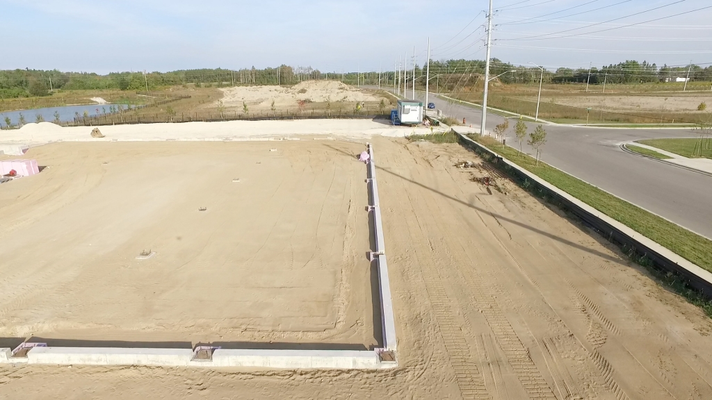 SHIMCO Site - Completed Foundation